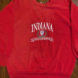 vintage indiana hoosiers sweatshirt